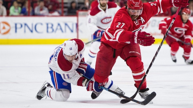 Pacioretty, Lindgren lead Canadiens past Hurricanes 4-2 Article Image 0