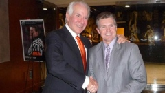 Ed Snider and Kerry Fraser