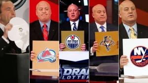NHL Draft Lottery History