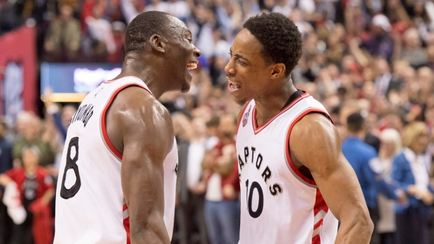 Biyombo and DeRozan