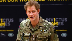 Prince Harry in Toronto setting stage for Invictus Games