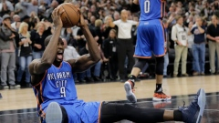 Thunder hold on beat Spurs 98-97, even series at 1-1 Article Image 0