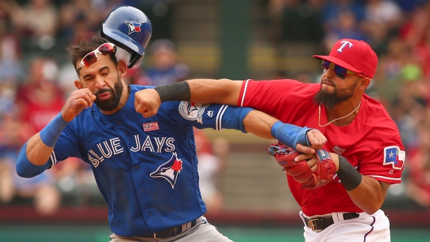 Jose Bautista Rougned Odor