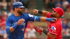 Jose Bautista and Rougned Odor