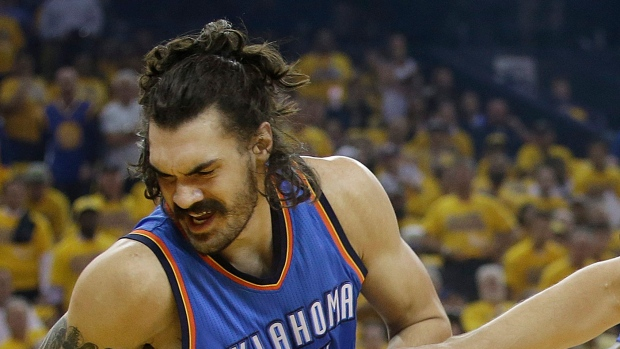 OKC's Steven Adams apologizes for 'monkeys' comment about Golden State