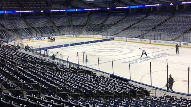 Ice at Amalie Arena