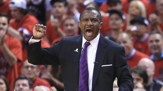 NBA Fines Raptors Coach Dwane Casey, Suspends Cavaliers Guard Dahntay Jones