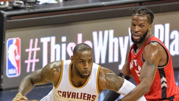 LeBron James and DeMarre Carroll
