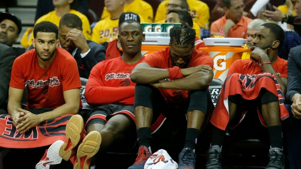 Toronto Raptors loss to Cavaliers