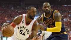 LeBron James and Patrick Patterson