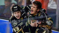 Knights celebrate Memorial Cup win