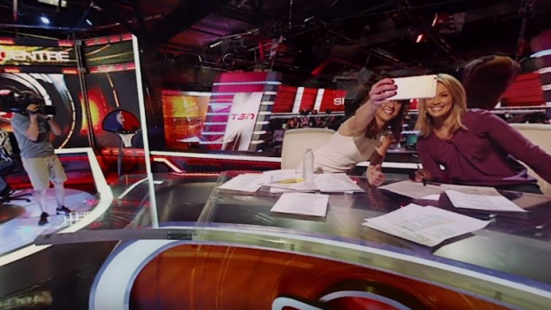 The SportsCentre 360 experience