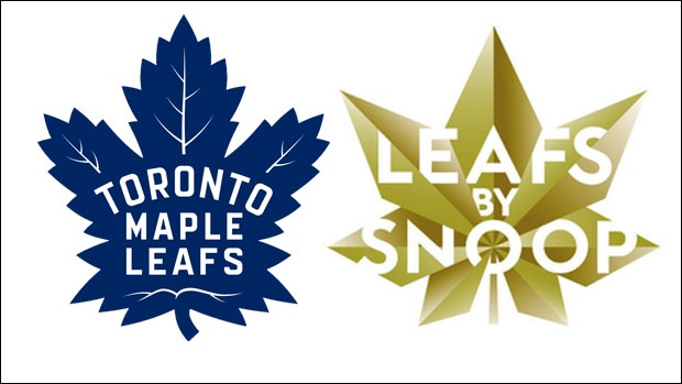 Toronto Maple Leafs and Snoop logos