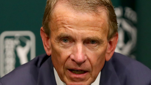 Finchem stepping down as PGA Tour commissioner