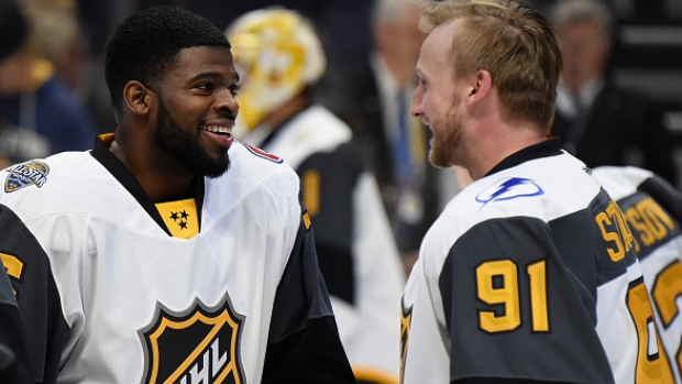 PK Subban and Steven Stamkos