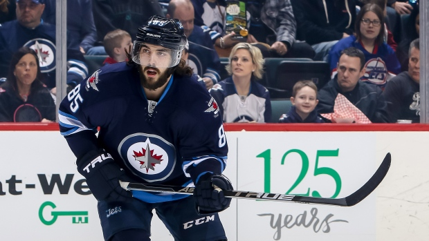 Perreault leaves Jets practice with LBI