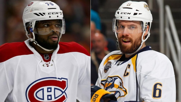 Subban and Weber