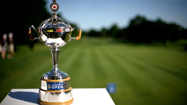Canadian Open championship trophy