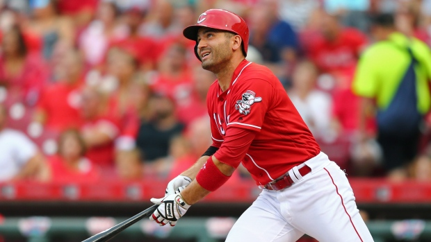 Votto makes rare visit home as jays host reds article tsn for Home wallpaper joey s