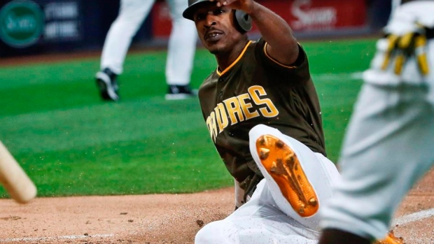 CP NewsAlert: Blue Jays acquire outfielder Melvin Upton Jr. from Padres Article Image 0
