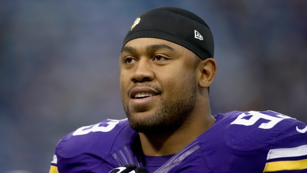 Kevin Williamsof the Minnesota Vikings