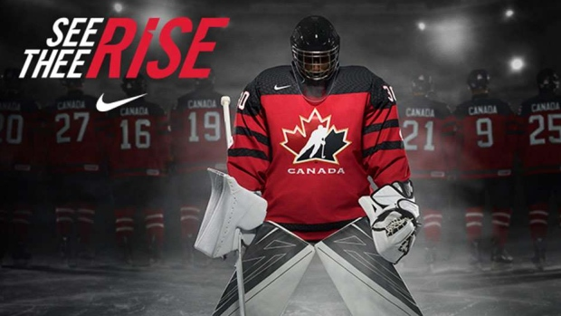 New Team Canada jersey