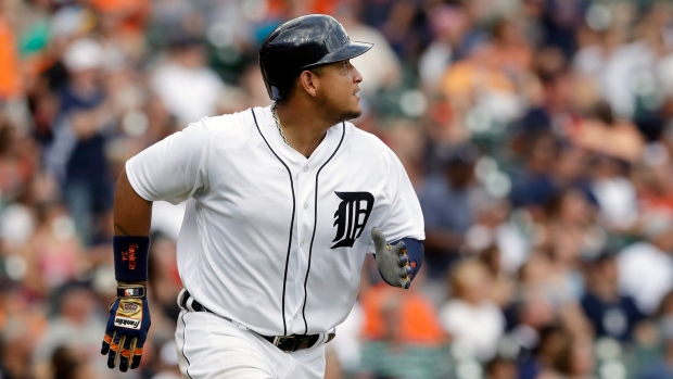 Tigers' Cabrera out of lineup with biceps injury - Article ... Miguel Cabrera Muscle