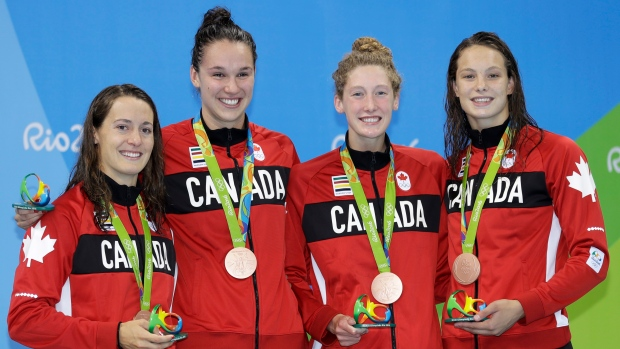 Canada 39 S Van Landeghem Bouchard Retire From Swimming Article Tsn