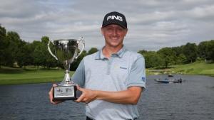 Canada's Hughes wins first Web.com Tour title