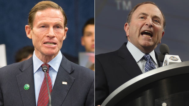 Richard Blumenthal/Gary Bettman