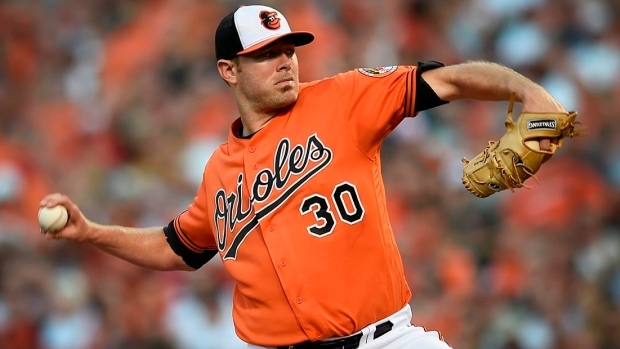 Orioles put Tillman on disabled list, turn to Jimenez