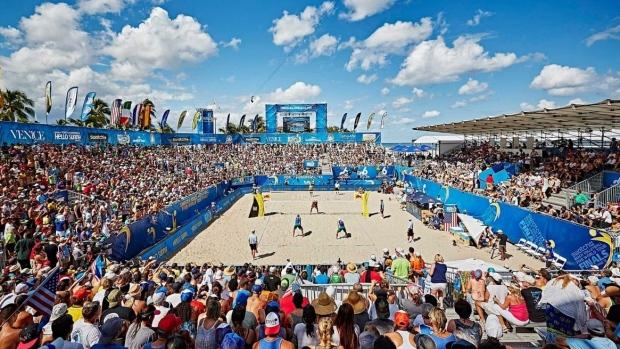 Long Beach Presidents Cup Beach Volleyball