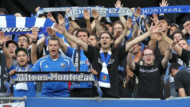 Montreal Impact supporters