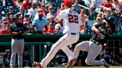 Harper throws helmets, gets ejected in Nats' loss to Rockies Article Image 0