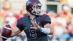 McMaster QB Asher Hastings (Credit Rick Zazulak, McMaster Athletics)