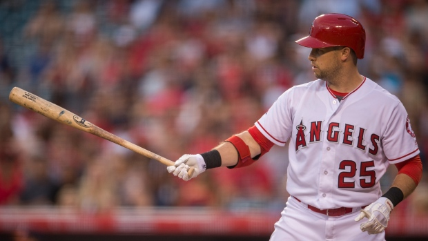Angels trade disappointing OF Daniel Nava to Royals
