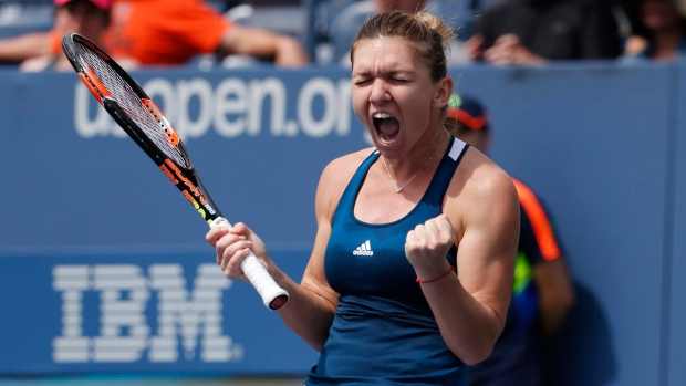 Halep beats Suarez Navarro at US Open