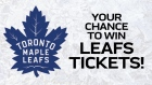 1150 Leafs Tickets Contest Graphic