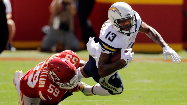 Chargers Wr Allen Carted Off Vs Chiefs Tsn Ca