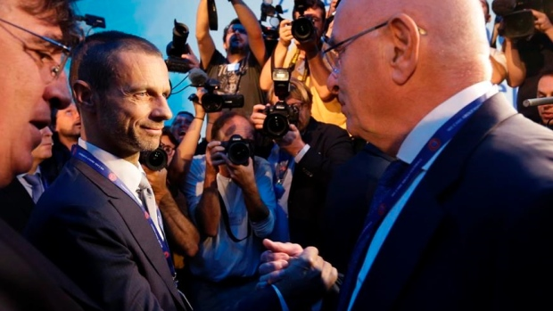 Aleksander Ceferin elected UEFA president to replace the disgraced Michel Platini