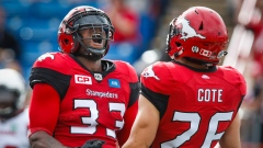 Jerome Messam and Rob Cote