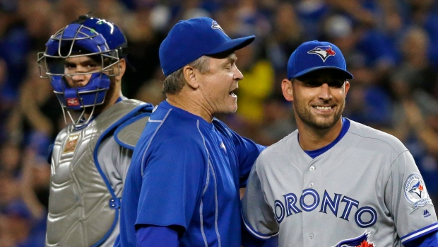 John Gibbons and Marco Estrada