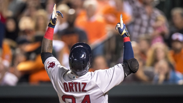 Red Sox retire No. 34 for David Ortiz