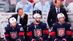 John Tortorella, Blake Wheeler, Ryan Kesler & David Backes