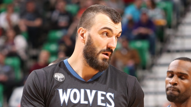 Timberwolves waive oft-injured center Nikola Pekovic