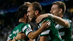 Bas Dost, Sporting CP celebrate