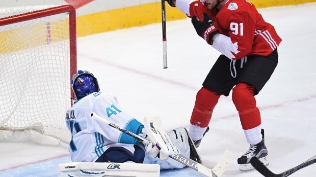 Canada forward Steven Stamkos finally gets a goal at World Cup of Hockey Article Image 0