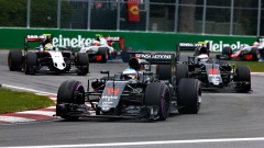 Fernando Alons leads Canadian F1 Grand Prix