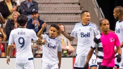 Whitecaps celebrate