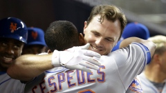 Jay Bruce and Yoenis Cespedes